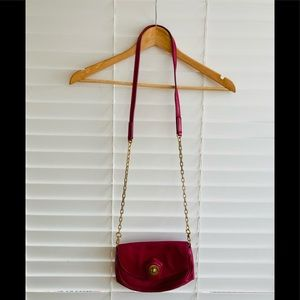 Marc by Marc Jacobs crossbody in berry color